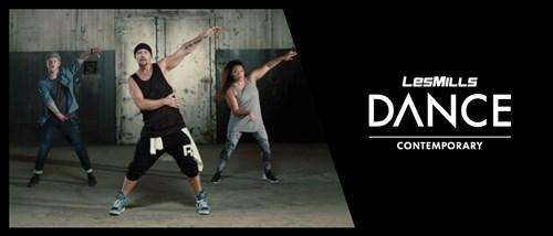 Free contemporary dance routine